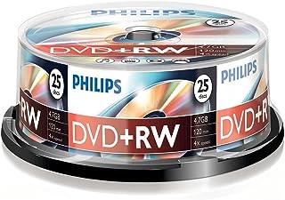 Philips 25 x DVD+RW - 4.7GB/120min, DW4S4B25F_00