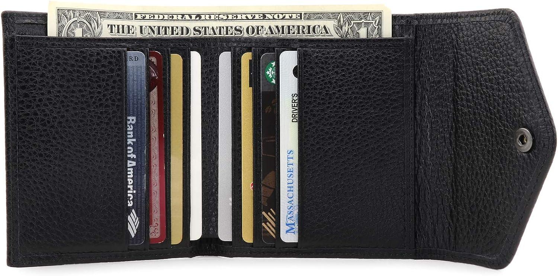 Otto Angelino Genuine Leather Envelope Style Wallet