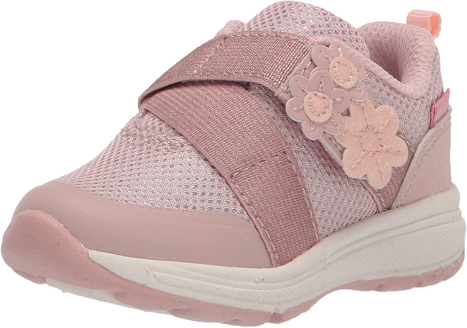 Stride Rite Girls Made2Play Josslyn Athletic Sneaker, Blush, 8 Toddler