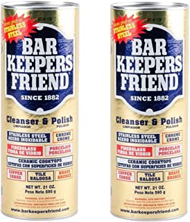 Bar Keepers Friend 21 oz. All Purpose Cleaning Powder (Pack of 2)