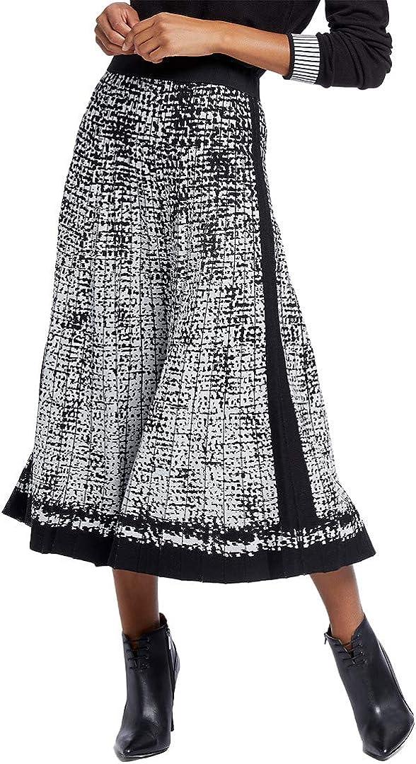 NIC+ZOE Women's Marvel Skirt Jacquard Max 53% Max 48% OFF OFF
