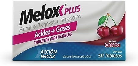 Melox Tabletas Masticables Plus, Cereza, 50 Piezas