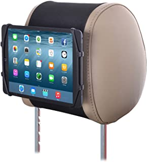 TFY Universal Car Headrest Mount Silicon Holder for 7 – 10.5 Inch Tablets and iPads