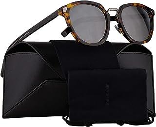 91dae27cfb1b Christian Dior Homme DiorTailoring1 Sunglasses Yellow Red Havana w/Silver  Mirror Lens 51mm EPZT4 Dior