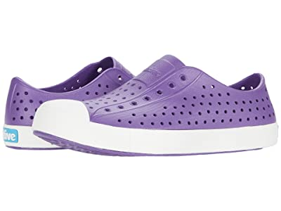 Native Kids Shoes Jefferson (Little Kid/Big Kid) (Starfish Purple/Shell White) Girls Shoes