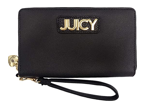Juicy Couture Pipe Dream Wallet wu002F Wrist Strap