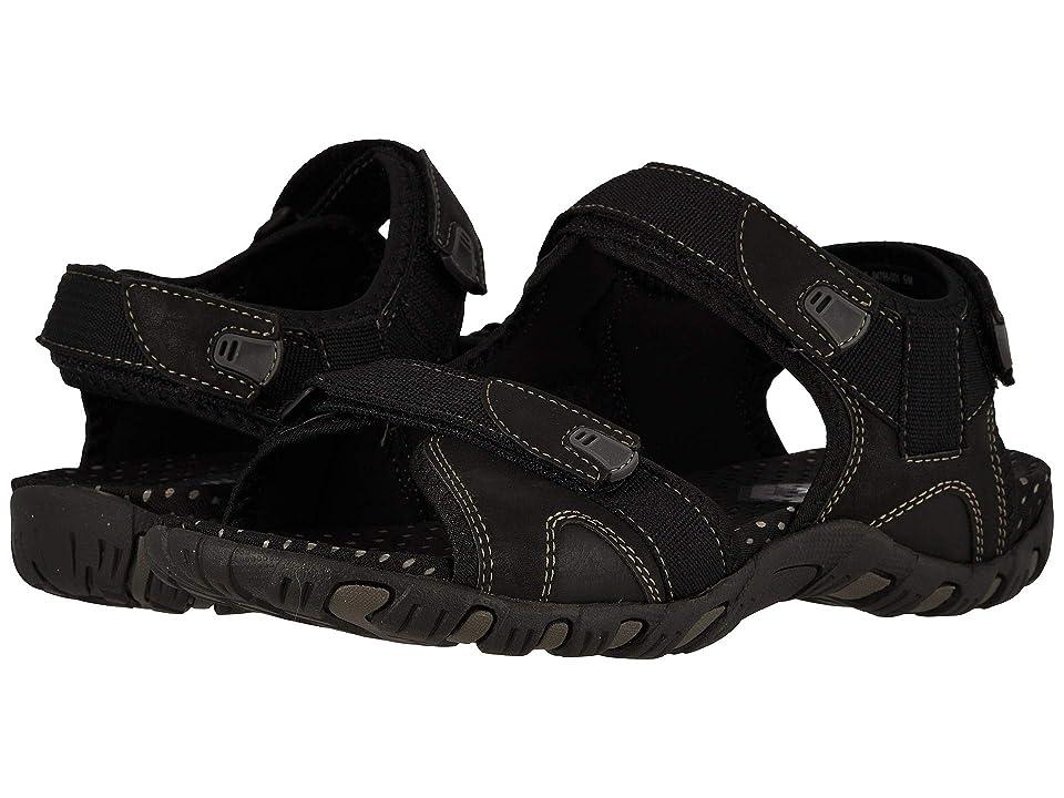 Nunn Bush Rio Bravo 3-Strap River Sandal (Black) Men