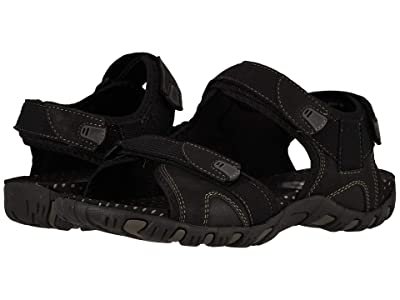 Nunn Bush Rio Bravo 3-Strap River Sandal (Black) Men