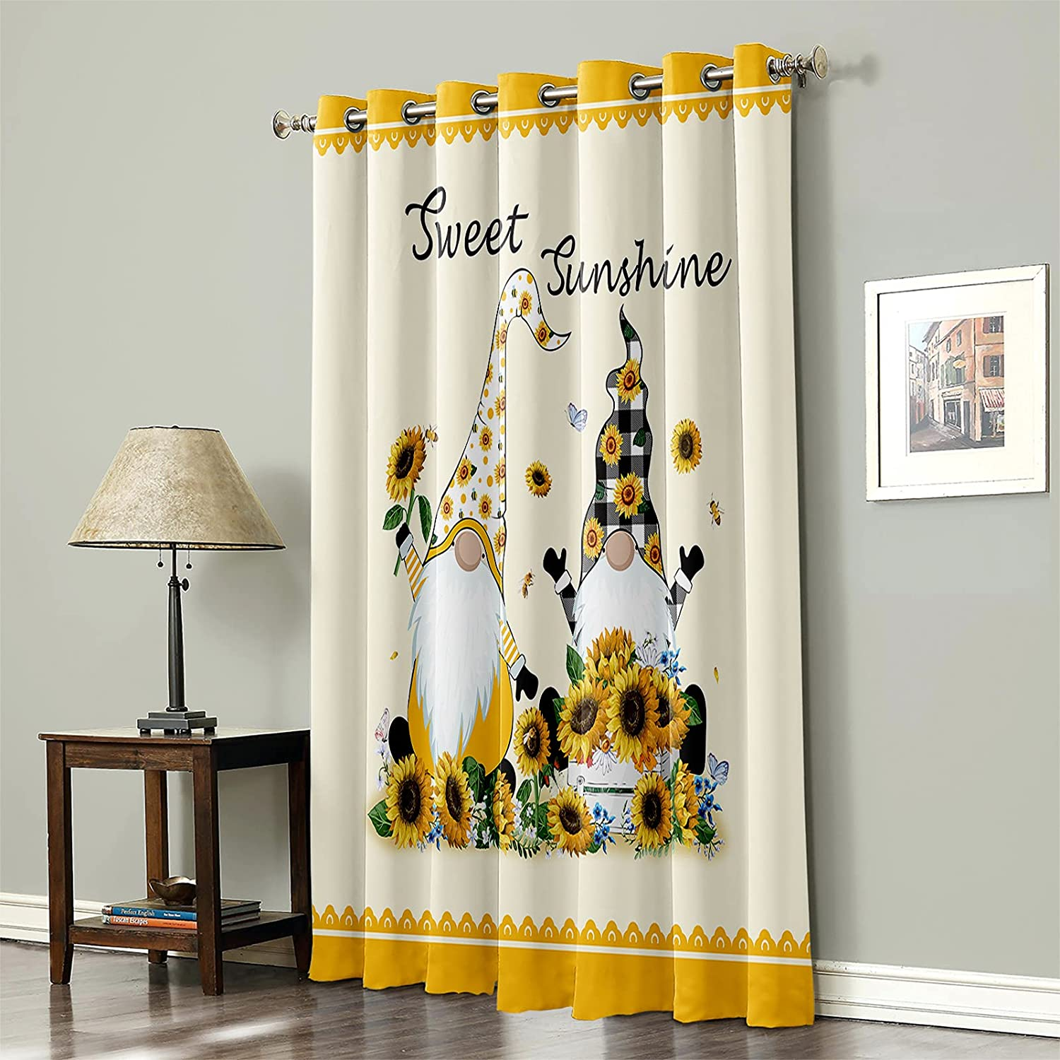 FAMILYDECOR Chicago Mall Blackout Curtain Thermal Window 1 Philadelphia Mall Insulated