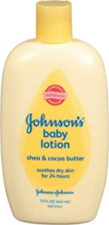 Johnson's Baby Lotion, Shea & Coca Butter, 15 Ounce (Pack of 2) - coolthings.us