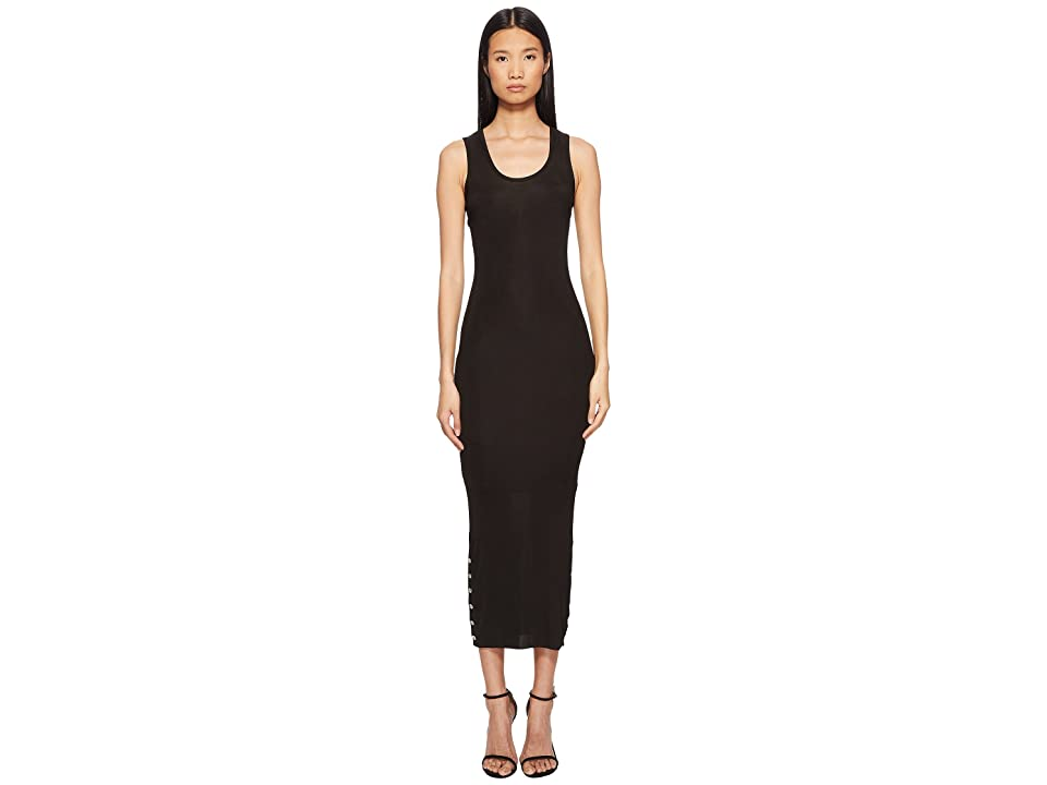 Versace Jeans Couture Tank Midi Dress (Nero) Women