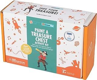 Fat Brain Toys Surprise Ride - Paint a Pirate's Chest Activity Kit