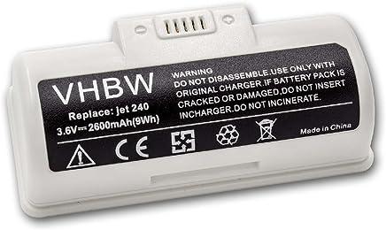 para robot aspirador Home Cleaner Kaily 310A NS3000D03X3. vhbw Bater/ía NiMH 2200mAh 14.4V 310E como YX-Ni-MH-022144