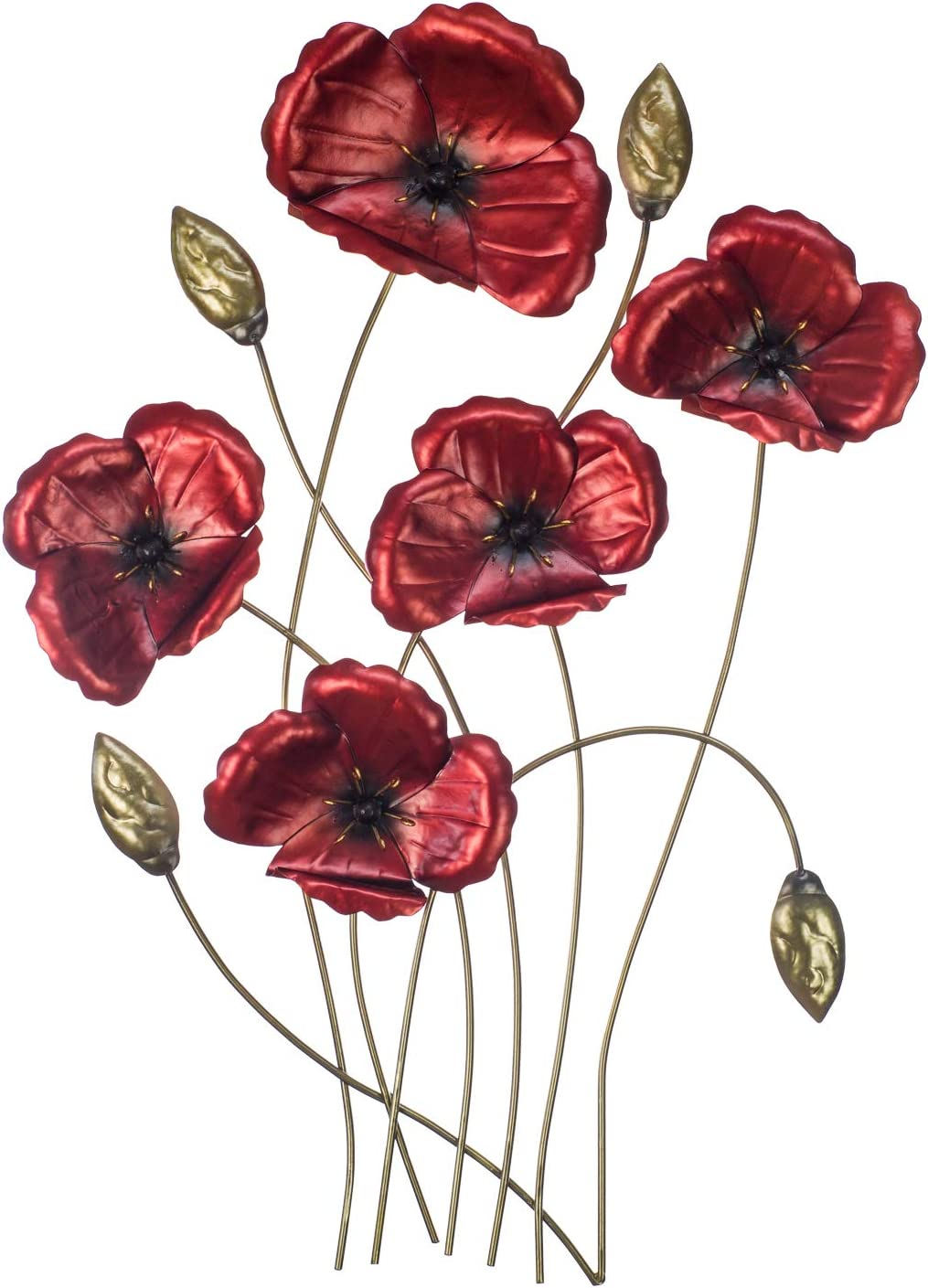 Poppy 即納最大半額 Wall Decor - Perfect for That ※アウトレット品 M Special Gift 3D Occasion