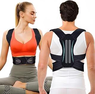 Backbrace met dubbele comfortabele verstelbare riem riem voor mannen en vrouwen M