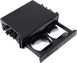 Yosoo Car Universal Single Din Radio Pocket Kit w/Drink-Cup Water Coffee Cup Holder Storage Box