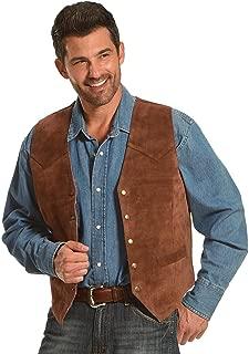 Roper Men's Suede Vest - -075-0500-0510 Br