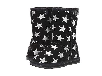 EMU Australia Kids Starry Night (Toddler/Little Kid/Big Kid) (Black) Girls Shoes