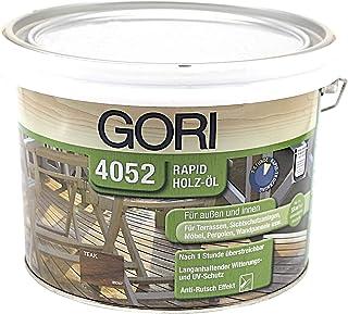 Gori 4052 Rapid Holzöl 7059 Teak, 2,50 Liter