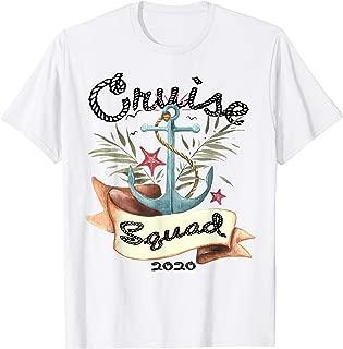 Cruise Squad 2020 Tshirt Family Cruise Trip Vacation Holiday T-Shirt