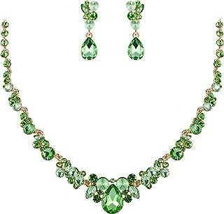 mint green bridal jewelry