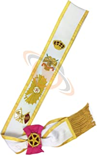 Masonic Regalia Rose Croix 33rd Degree Sash - Superior Quality