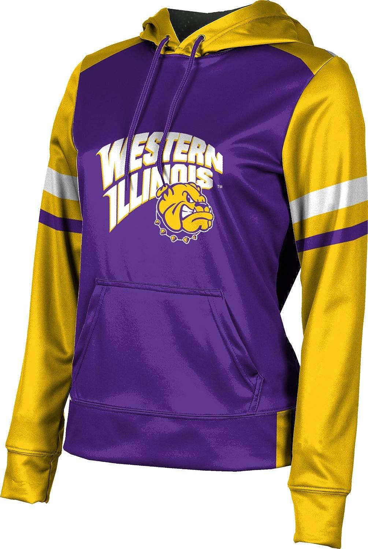 ProSphere Western Illinois University Girls' Pullover Hoodie, School Spirit Sweatshirt (Old School)