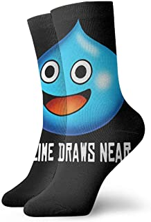Lsjuee Dragon Quest Slime Game Fashion Printed Sports Fitness con comode calze medie