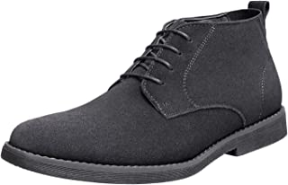 Bruno Marc Men's Chukka Suede Leather Chukka Desert Oxford Ankle Boots