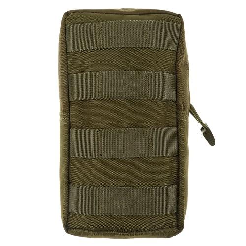 Molle Bolsa Para Uso General Táctico Modular De Accesorios De Camuflaje Militar Bolsa - Verde,