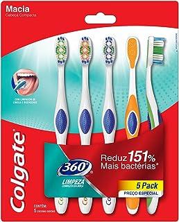 Escova Dental Colgate 360º 5unid