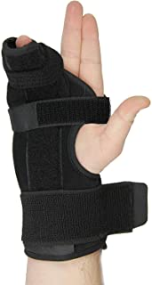 Metacarpal Splint- Boxer Splint for Right Hand, Easy To Put On and Take Off, Stabilizing Splint for Metacarpal and Hand Injuries, a U.S. Solid Product (Small)