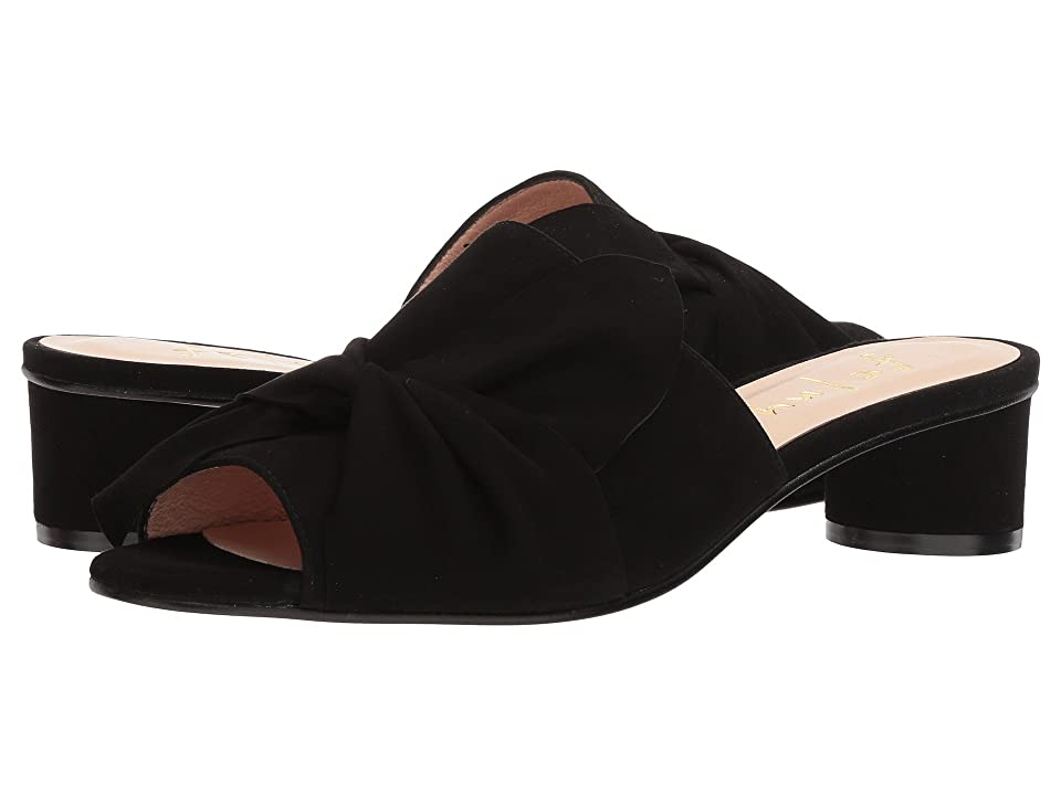 French Sole Beach (Black Suede) Women