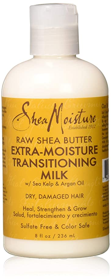 メカニック降下徐々にRaw Shea Butter Extra-Moisture Transitioning Milk - Dry-Damage Hair