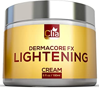 Clia Skin Lightening Cream with Retinol - Natural Brightening Lotion To Improve Melasma, Hyperpigmentation, Skin Discoloration and Dark Skin Spots | Bleach-Free Cream