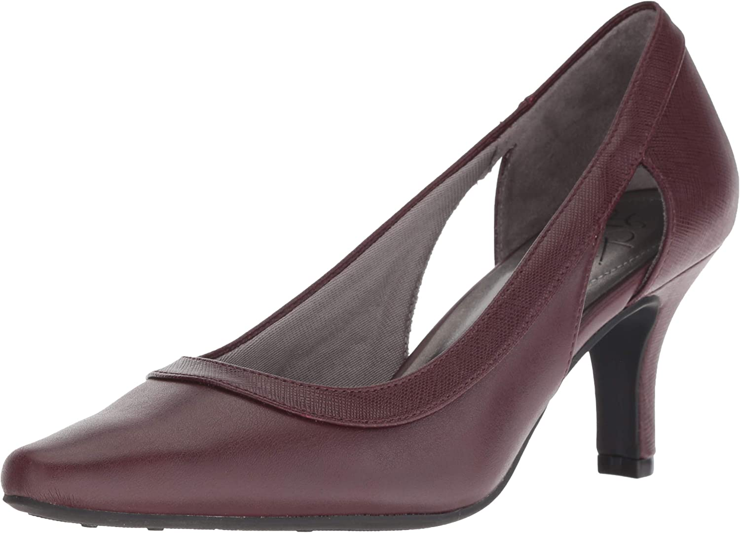 LifeStride Womens Kimberly Mid-Heel Pump Pump