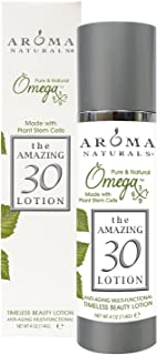 Aroma Naturals Pure and Natureal Omegax Beauty Lotion, The Amazing 30, 120ml
