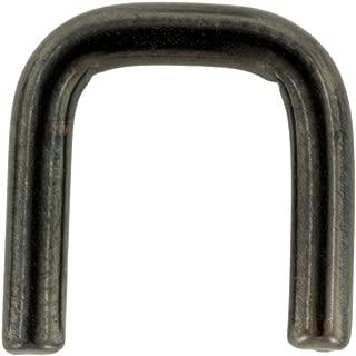 Black PVD Stainless Steel Staple Shape Septum Retainer