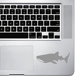 ملصق من StickAny Palm Series Whale Shark لأجهزة MacBook Pro وChromebook وأجهزة الكمبيوتر المحمول (فضي)