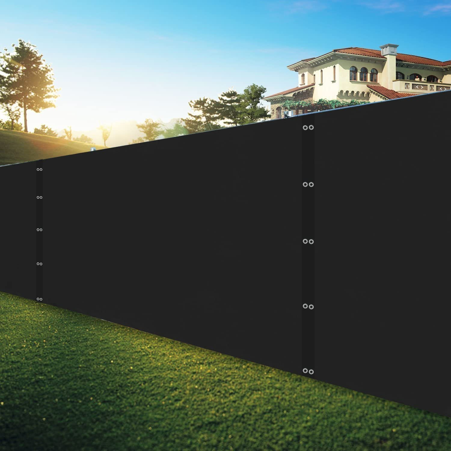 Shatex Pro Security Choice Privacy Windscreen Gromm Black Super beauty product restock quality top! with 4x30FT