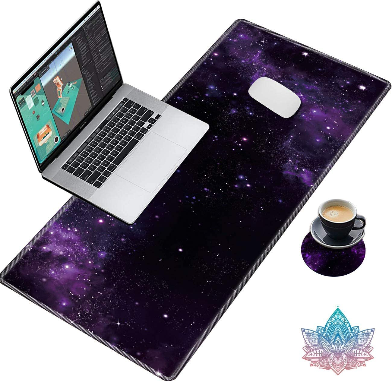 Sindgan Desk Pad Gaming Large XXL Same day shipping Extended Mouse Keyboar XL trust