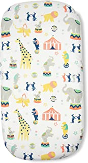 Weegoamigo Circus Bassinet Fitted Sheet 2 Pack