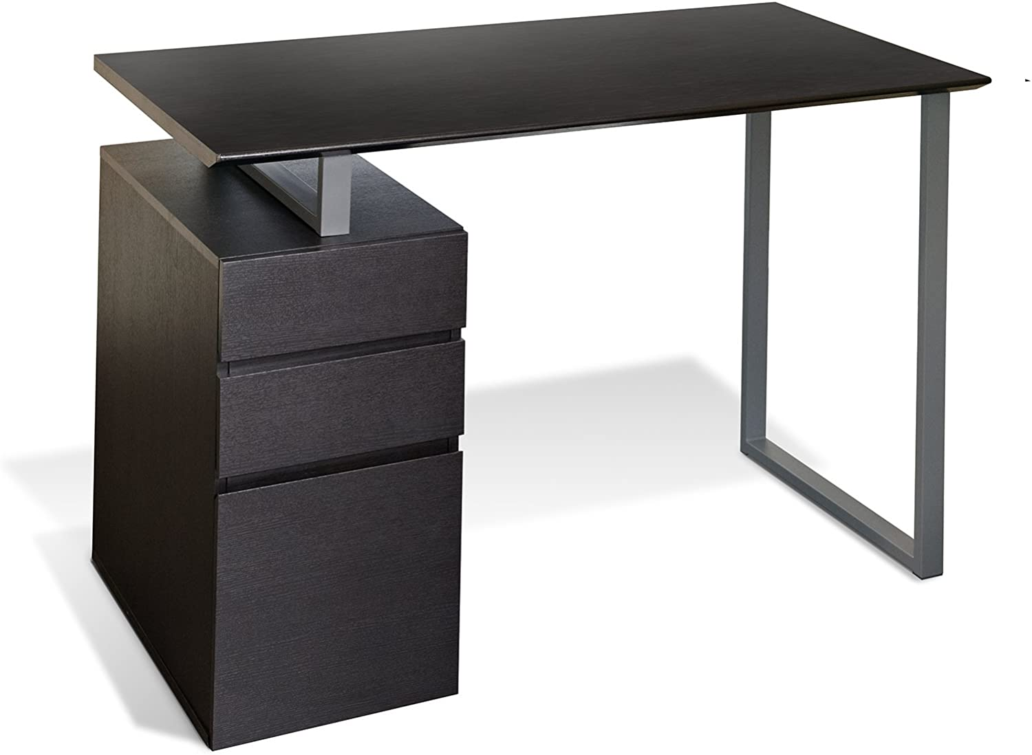 Unique National products Max 62% OFF Furniture Writing Desk Drawers Espresso with
