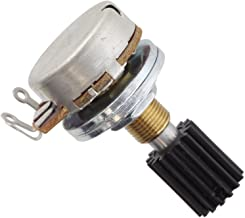 Replacement Potentiometer with Gear for Wah Pedals, 125K Linear