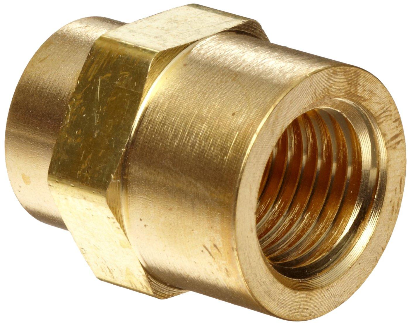 "1//2/"" NPT Brass Close Nipple New Parker"