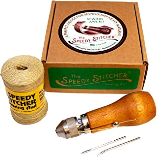 Speedy Stitcher Unisex-Adult Fixed Blade,Hunting Knife,Outdoor,Camping SEW110, N/A, One Size