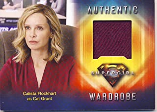 2018 Cryptozoic Supergirl Season 1 Trading Cards Wardrobe Insert Card M23 Calista Flockhart as Cat Grant