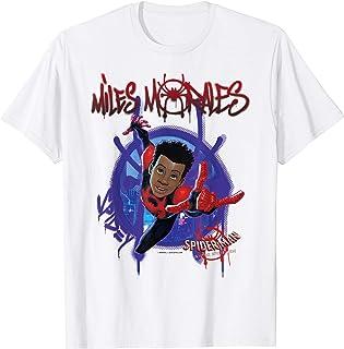 Marvel Spider-Man Spiderverse Miles Morales Splat Camiseta