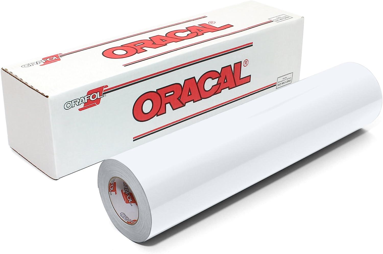 12 x 6 Oracal 751 Glossy Premium 8 Year Outdoor Cast Vinyl Black