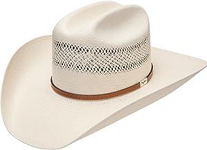 RESISTOL Mens 10X Straw Cowboy Hat